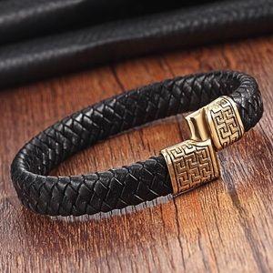 Golden manly bracelet